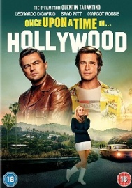 Once Upon A Time In Hollywood artwork