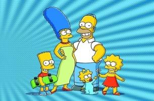 The Simpsons S14 artwork
