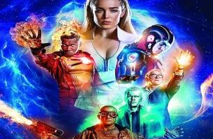 DC Legends Of Tomorrow S3 artwork