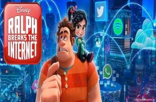 Ralph Breaks the Internet artwork