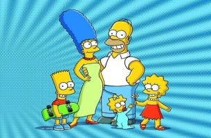 The Simpsons S19 artwork