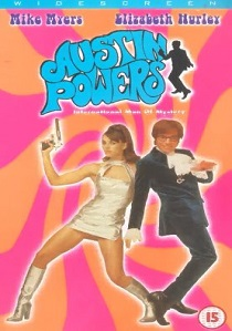 Austin Powers : International Man of Mystery (1997) artwork