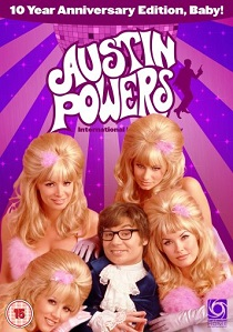 Austin Powers : International Man of Mystery - 10th Anniversary Edition (1997) artwork