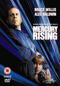 Mercury Rising (1998) artwork