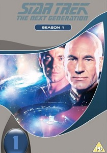 Star Trek : The Next Generation Season One Box-set artwork