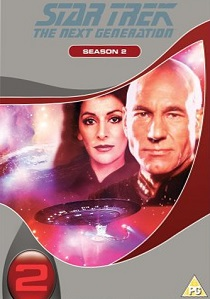 Star Trek : The Next Generation Season Two Box-set artwork