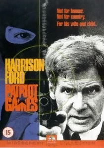 Patriot Games (1992) artwork