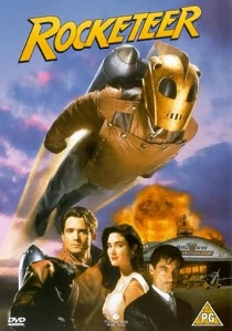 Rocketeer (1991) artwork