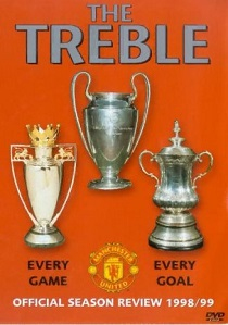 Manchester United - The Treble artwork