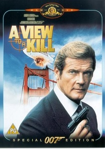 A View to a Kill artwork