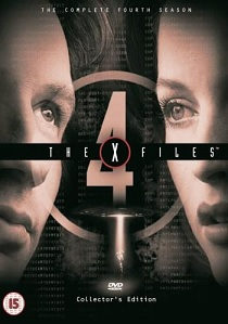X-Files : Season Four Box-set artwork