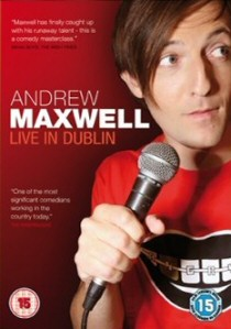 Andrew Maxwell: Live In Dublin (2006) artwork
