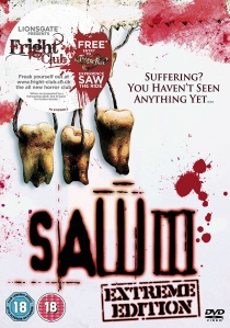 Saw III - Extreme Edition artwork