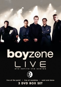 Boyzone Live (2008) artwork