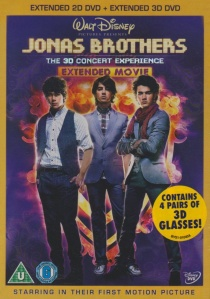 Jonas Brothers: The Concert Experience Extended Edition Movie artwork