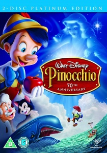 Pinocchio : 70th Anniversary Platinum Edition artwork