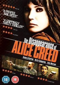 The Disappearance of Alice Creed artwork