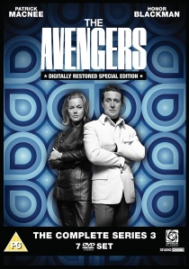 The Avengers: The Complete Series 3 (1961) artwork