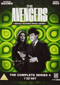 The Avengers : The Complete Series 4 artwork