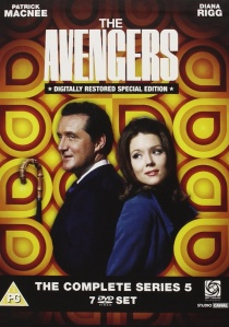 The Avengers: The Complete Series 5 artwork