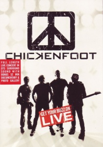 Chickenfoot: Get Your Buzz On 'Live' artwork