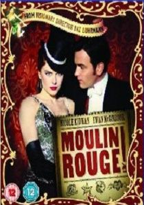 Romeo+Juliet and Moulin Rouge! artwork