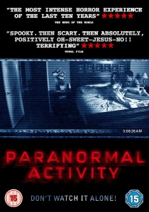 Paranormal Activity artwork
