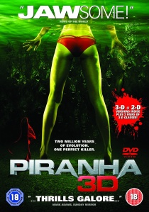 Piranha 3D artwork