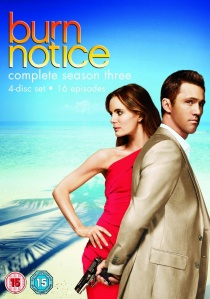 Burn Notice Season 3 artwork