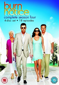 Burn Notice Season 4 artwork