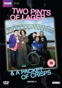 Two Pints of Lager and A Packet of Crisps Series 9 artwork