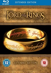 The Lord of the Rings Motion Picture Trilogy: Extended Edition (Blu-ray) artwork
