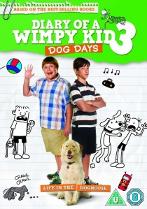 Diary of a Wimpy Kid 3: Dog Days (2012) artwork