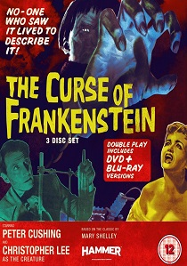 The Curse Of Frankenstein (1957) artwork