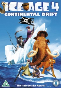 Ice Age 4: Continental Drift artwork