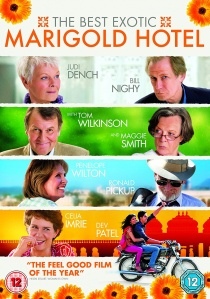 The Best Exotic Marigold Hotel artwork