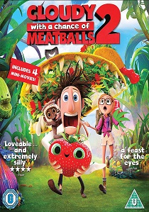 Cloudy With a Chance Of Meatballs 2 (2013) artwork