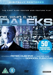Dr Who And The Daleks artwork