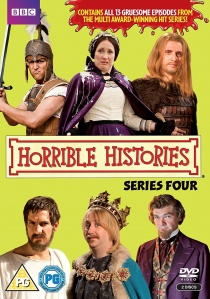 Horrible Histories: Series 4 (2009) artwork