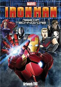 Iron Man: Rise Of Technovore artwork