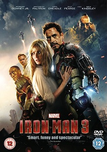 Iron Man 3 artwork
