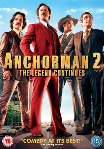 Anchorman 2: The Legend Continues artwork