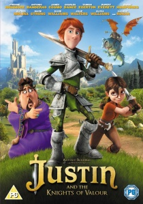 Justin and the Knights of Valour artwork