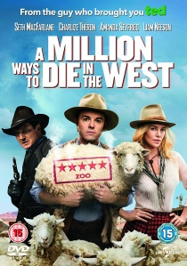 A Million Ways to Die in the West artwork