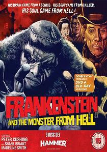 Frankenstein And The Monster From Hell artwork