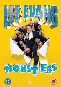 Lee Evans - Monsters artwork
