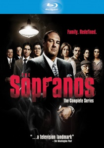 The Sopranos: The Complete Series Blu-ray (2014) artwork