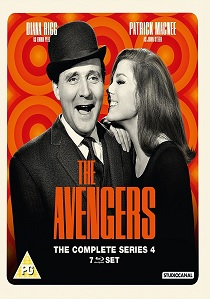 The Avengers - the Complete Series 4 (1965) artwork