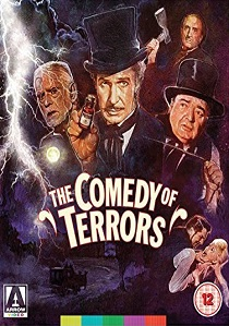 The Comedy of Terrors (1963) artwork