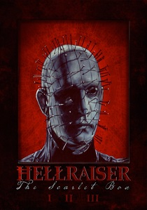 Hellraiser: The Scarlet Box Limited Edition Trilogy (1987) artwork